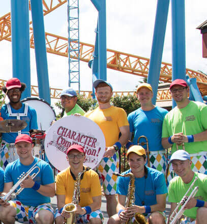 Character Commotion at Hersheypark