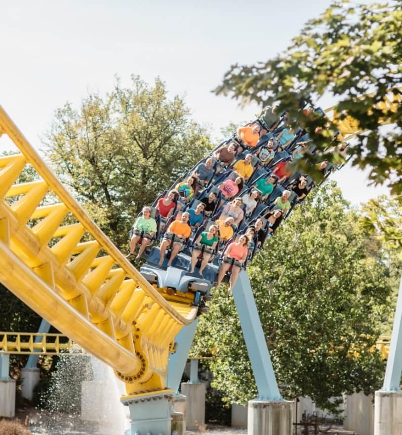 Skyrush Rollercoaster