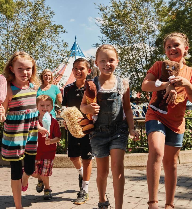 kids at Hersheypark