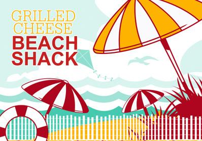 Grilled Cheese Beach Shack Logo