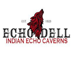 Indian Echo Caverns logo