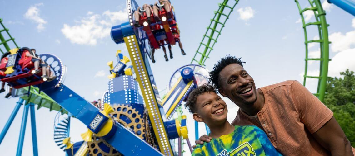 Skyrush Roller Coaster
