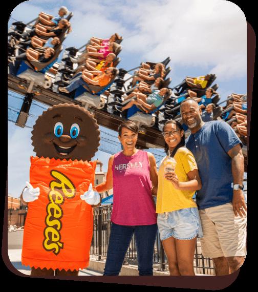 Family at Hersheypark