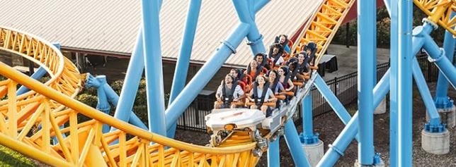 Fahrenheit coaster at Hersheypark