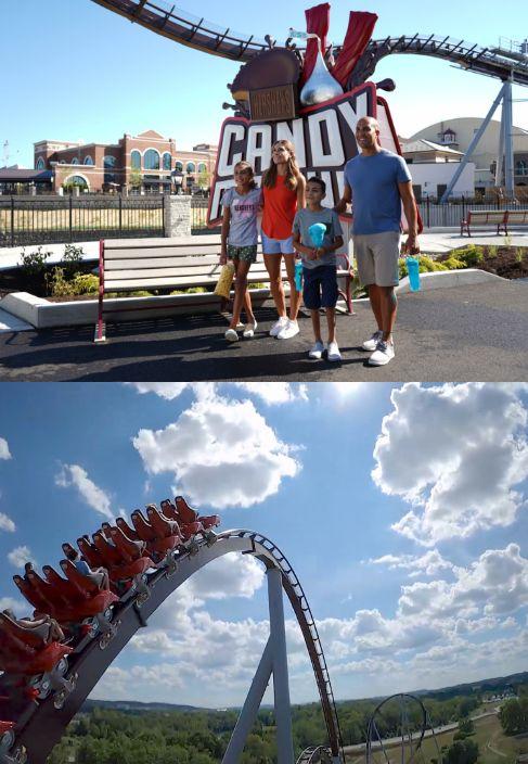 Candymonium roller coaster